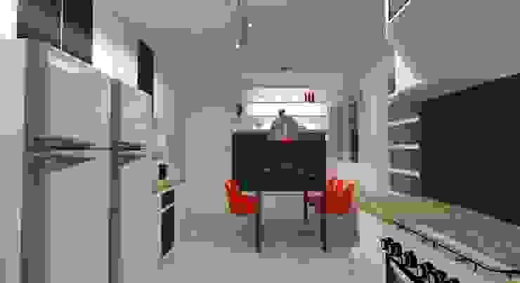 Politi Matteo Arquitetura Dapur Modern