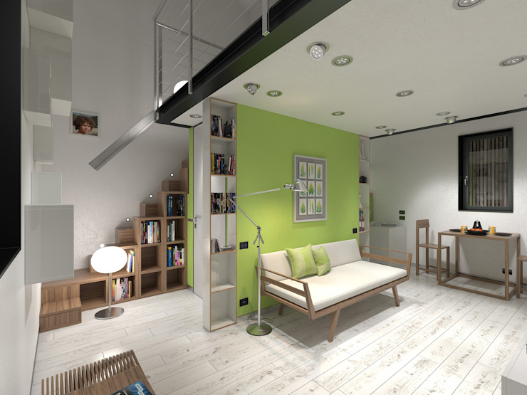 Living room by 3d-arch, Modern