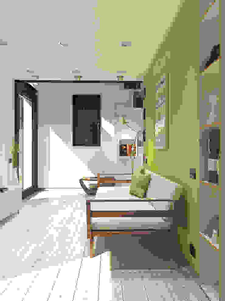 Lavori Moderne Wohnzimmer von 3d-arch Modern