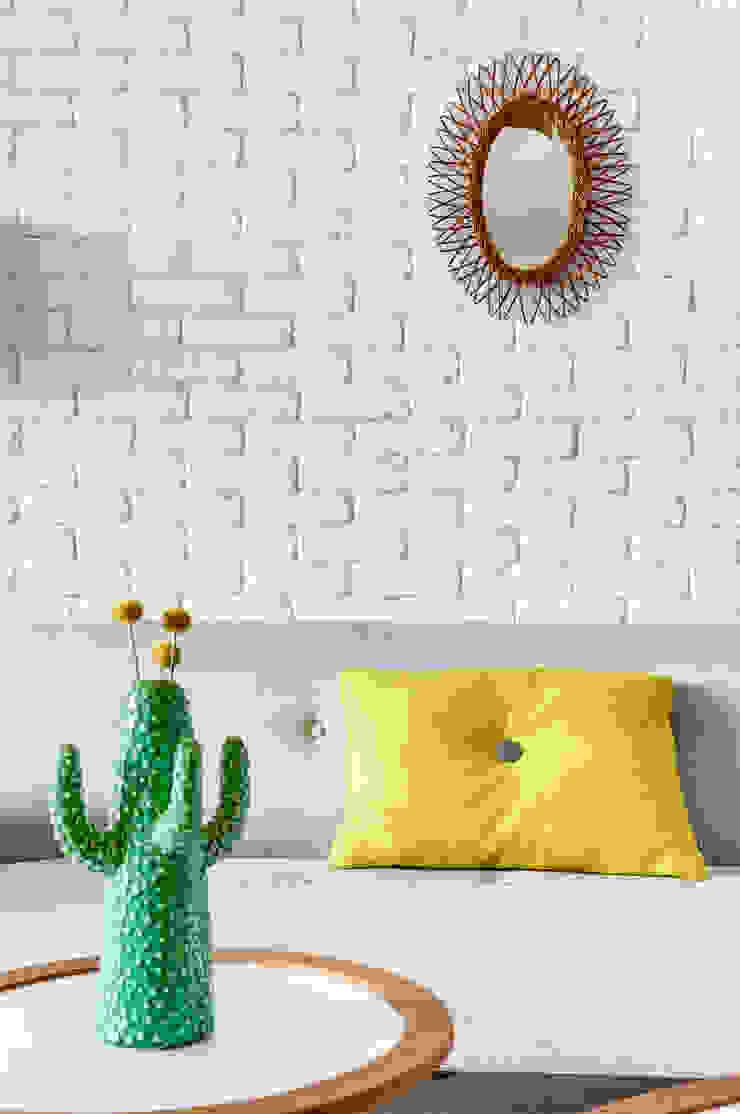 Transition Interior Design Salones de estilo moderno Blanco