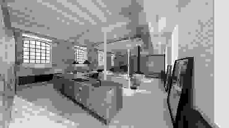 Projekt studio loft od Mess Architects