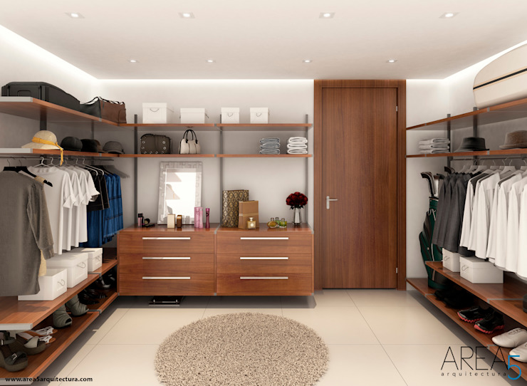 Dressing room by Area5 arquitectura SAS