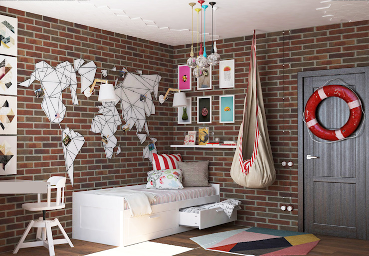 Nursery/kid's room by AnARCHI, Eclectic