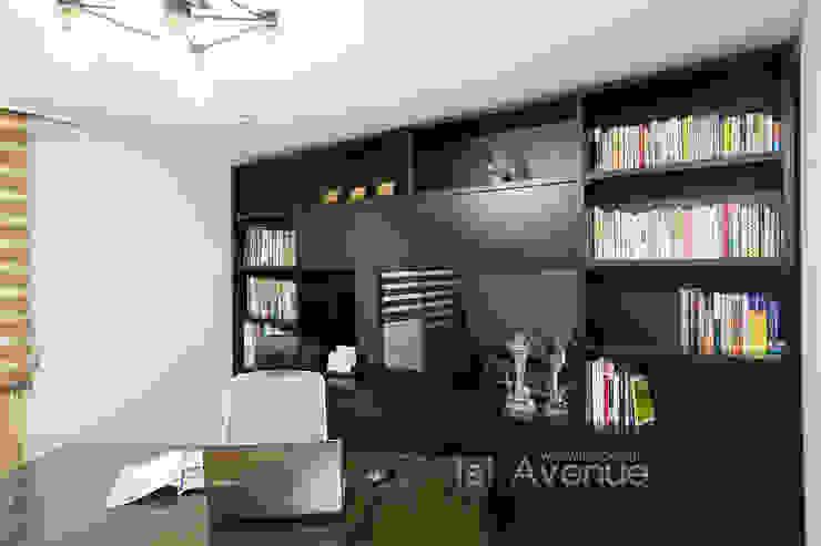 Studeerkamer/kantoor door 퍼스트애비뉴, Modern
