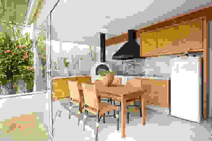 Modern Terrace by Silvana Lara Nogueira Modern