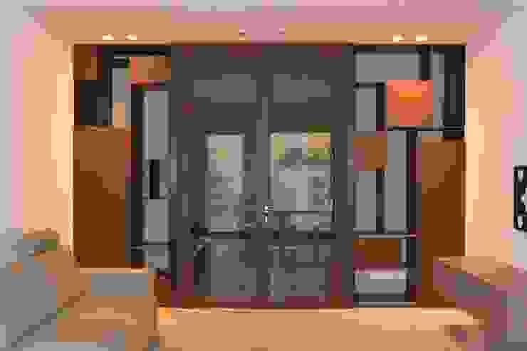 VILLE IN BIOEDILIZIA Modern Corridor, Hallway and Staircase