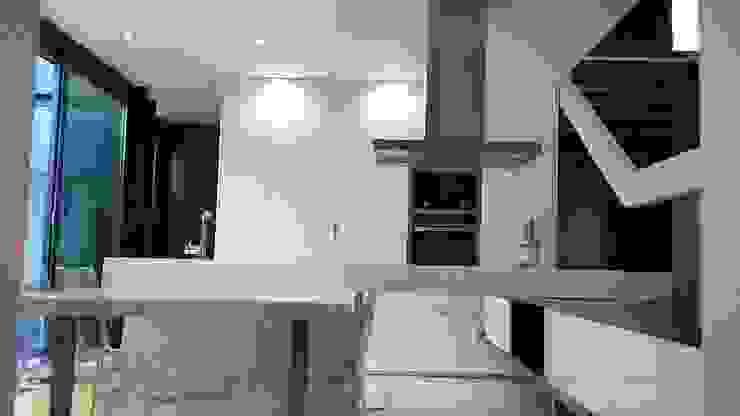 Hugo Pereira Arquitetos Cocinas de estilo minimalista