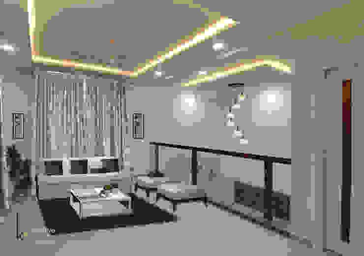 Modern Oturma Odası KREATIVE HOUSE Modern Masif Ahşap Rengarenk