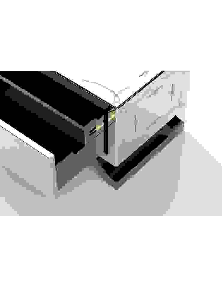 METROPOLITAN Nightstand por Be-Luxus Moderno