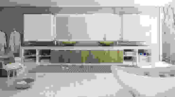 Catálogo Banheiros modernos por Balaroti Móveis para sua Vida Moderno