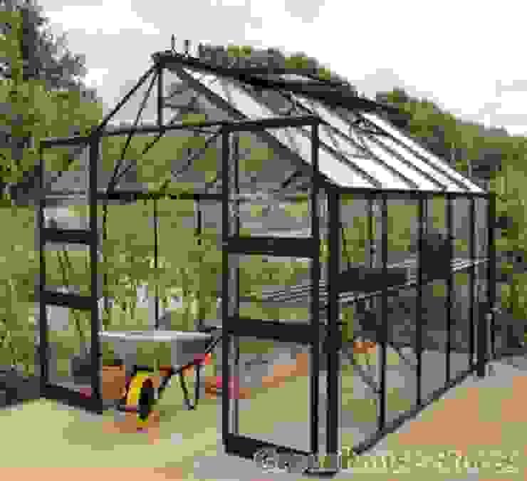 Eden Greenhouses de homify Moderno Aluminio/Cinc