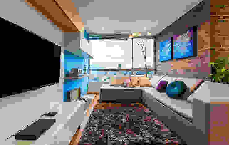 Family Room de Cristina Cortés Diseño y Decoración Moderno