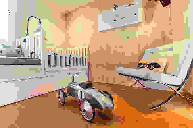 Habitacion Bebe de Cristina Cortés Diseño y Decoración Moderno