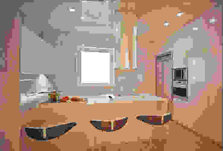 Interior Design: la cucina di VILLEINBIOEDILIZIA