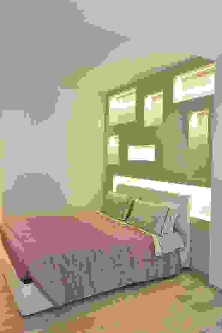 La camera da letto di VILLEINBIOEDILIZIA