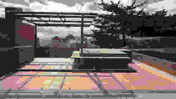 Antes y Después de este increíble Pent-House con terraza. de ARCE S.A.S