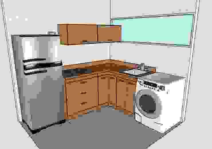 Kitchen by Grupo Creativo DF, C.A.