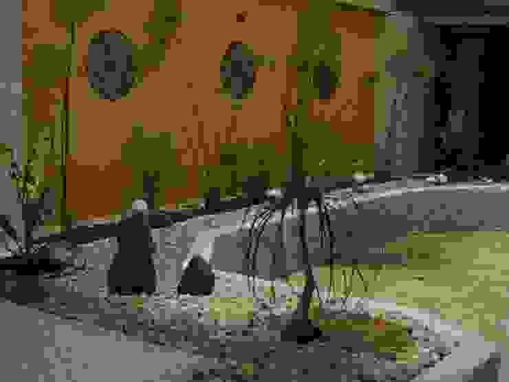 Garden by Jardines Paisajismo Y Decoraciones Elyflor, Modern