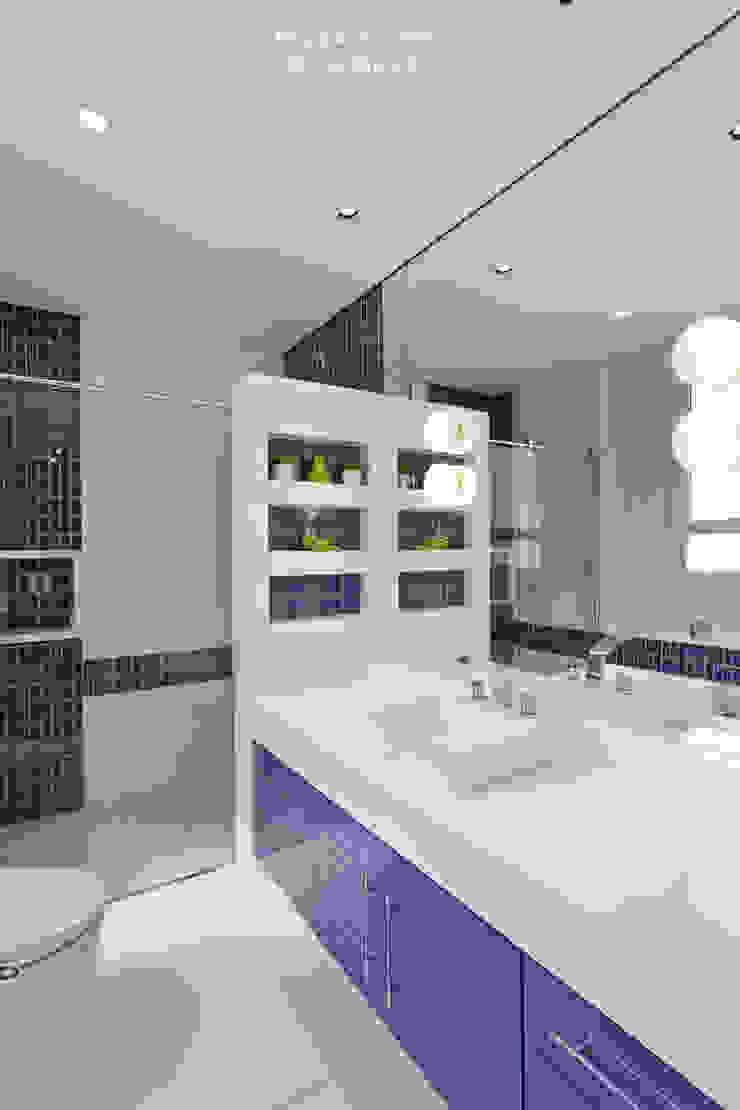 Banheiro Masculino Banheiros modernos por Nilza Alves e Rita Diniz Moderno