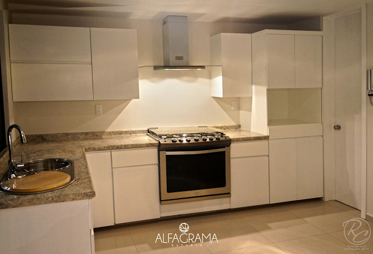 Modern Kitchen by Alfagrama estudio Modern