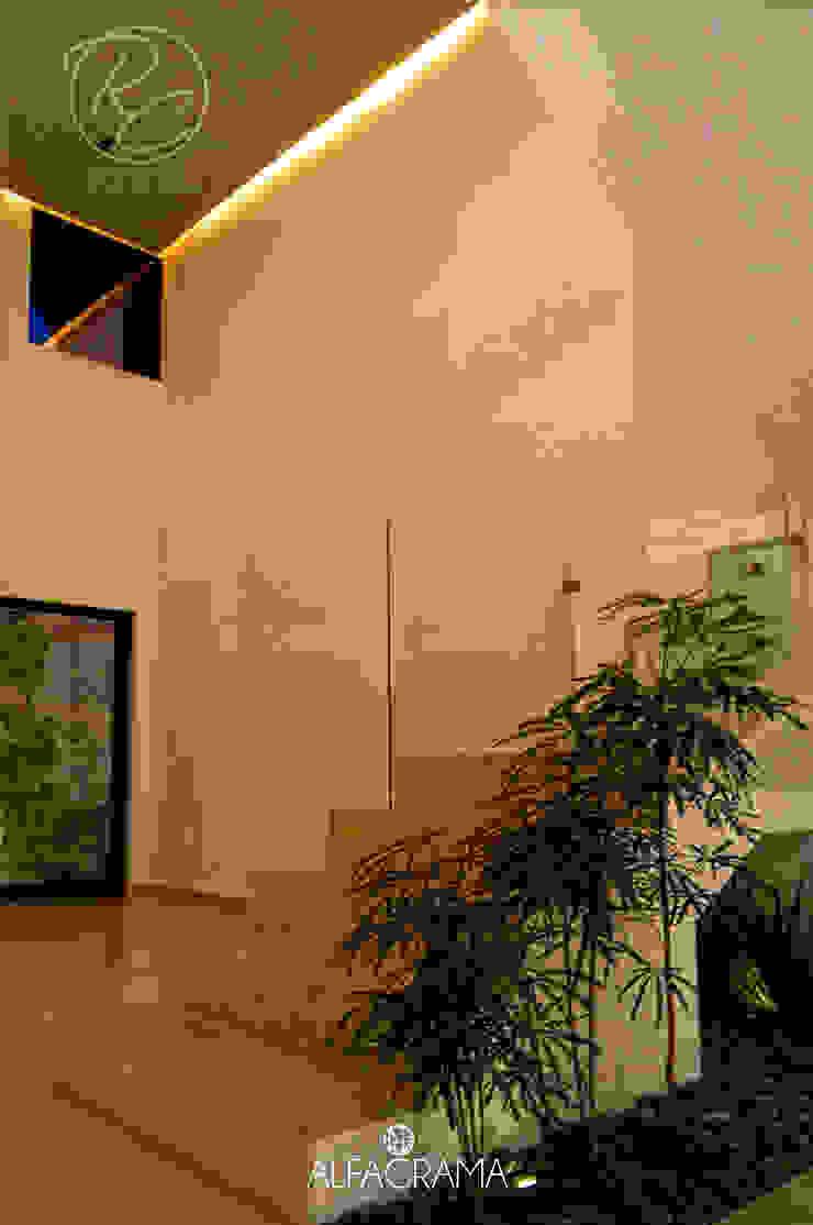 Modern corridor, hallway & stairs by Alfagrama estudio Modern