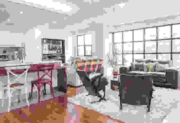 La remodelación de un apartamento en chico norte. : Salas de estilo  por ARCE S.A.S, Moderno