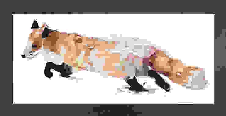PAINTBYMGB – tilki: modern tarz , Modern