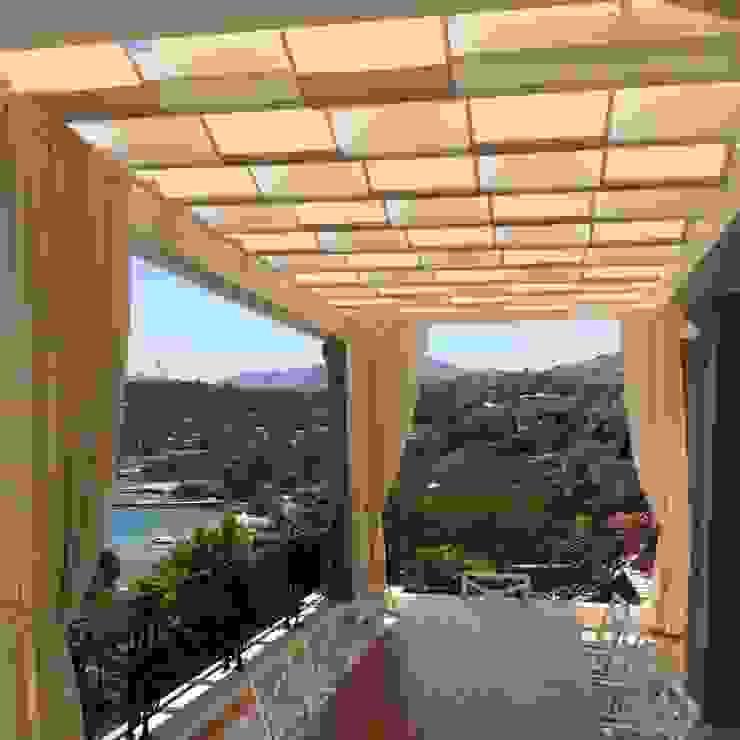 Hebil Villa Ditto Mimarlık & Tasarım Boutique Akdeniz Masif Ahşap Rengarenk