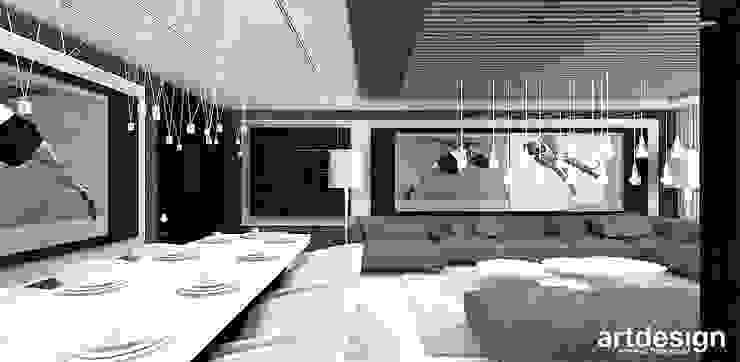 Moderne Wohnzimmer von ARTDESIGN architektura wnętrz Modern