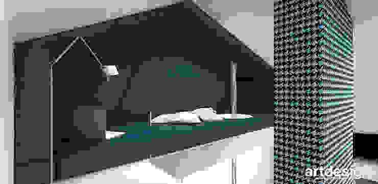 sypialnia na antresoli Nowoczesny pokój dziecięcy od ARTDESIGN architektura wnętrz Nowoczesny