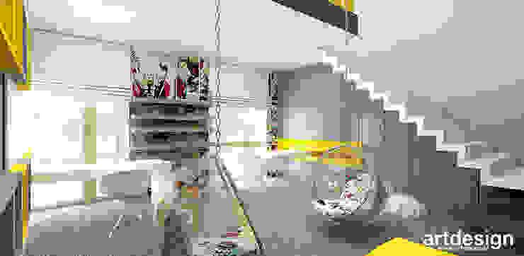 nowoczesne wnętrze pokoju dziecięcego Nowoczesny pokój dziecięcy od ARTDESIGN architektura wnętrz Nowoczesny