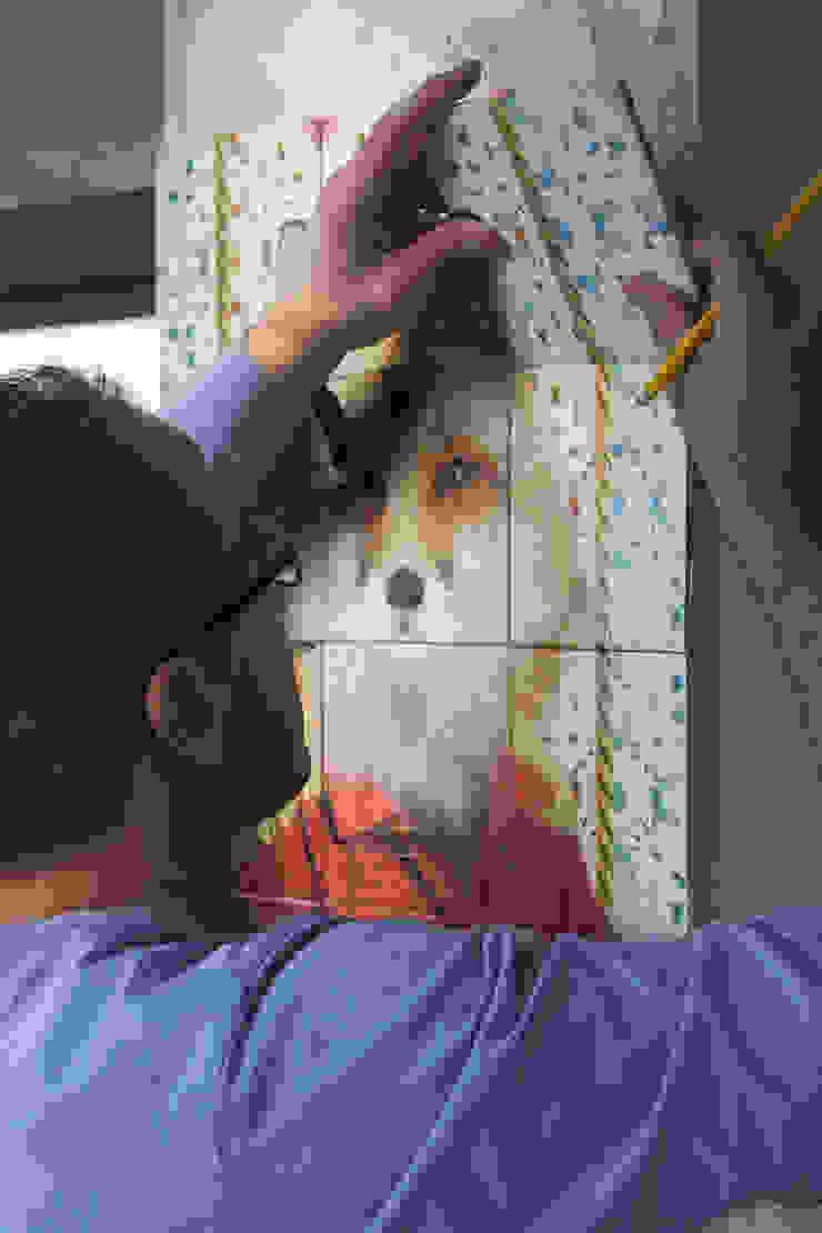 RED FOX por Surrealejos Eclético Azulejo