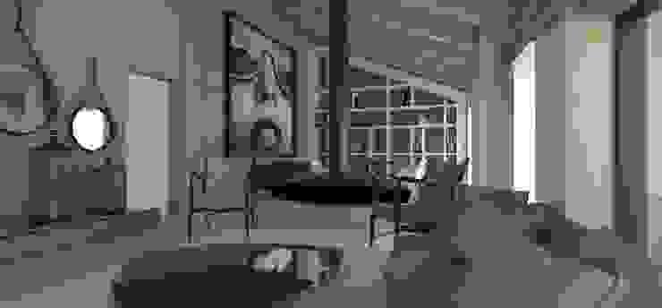 Remodelação sala e Design de Interiores por By N&B Interior Design Moderno