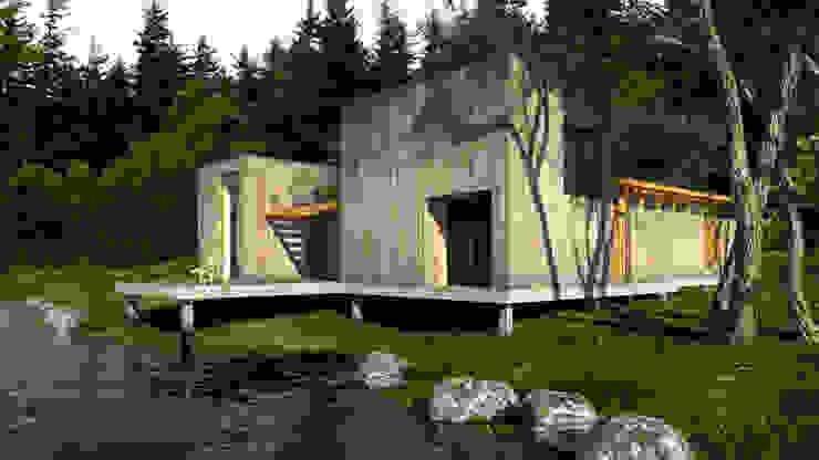 Cabana Modernista:   por Henrique Barros-Gomes - Arquitecto,