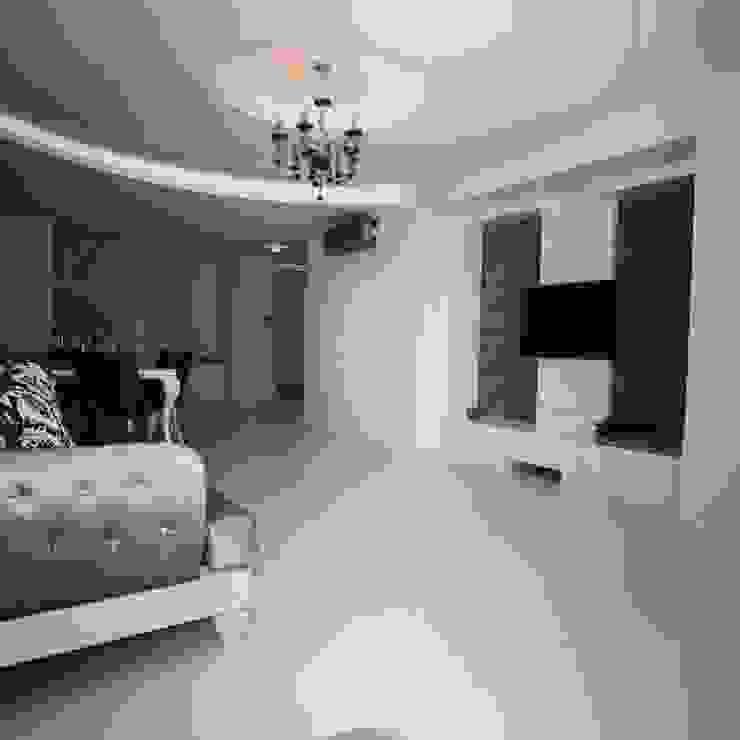 Çalışmalarımız Modern Oturma Odası Emko Mimarlık & Montel Dekorasyon Modern