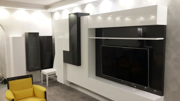 Modern living room by Emko Mimarlık & Montel Dekorasyon Modern