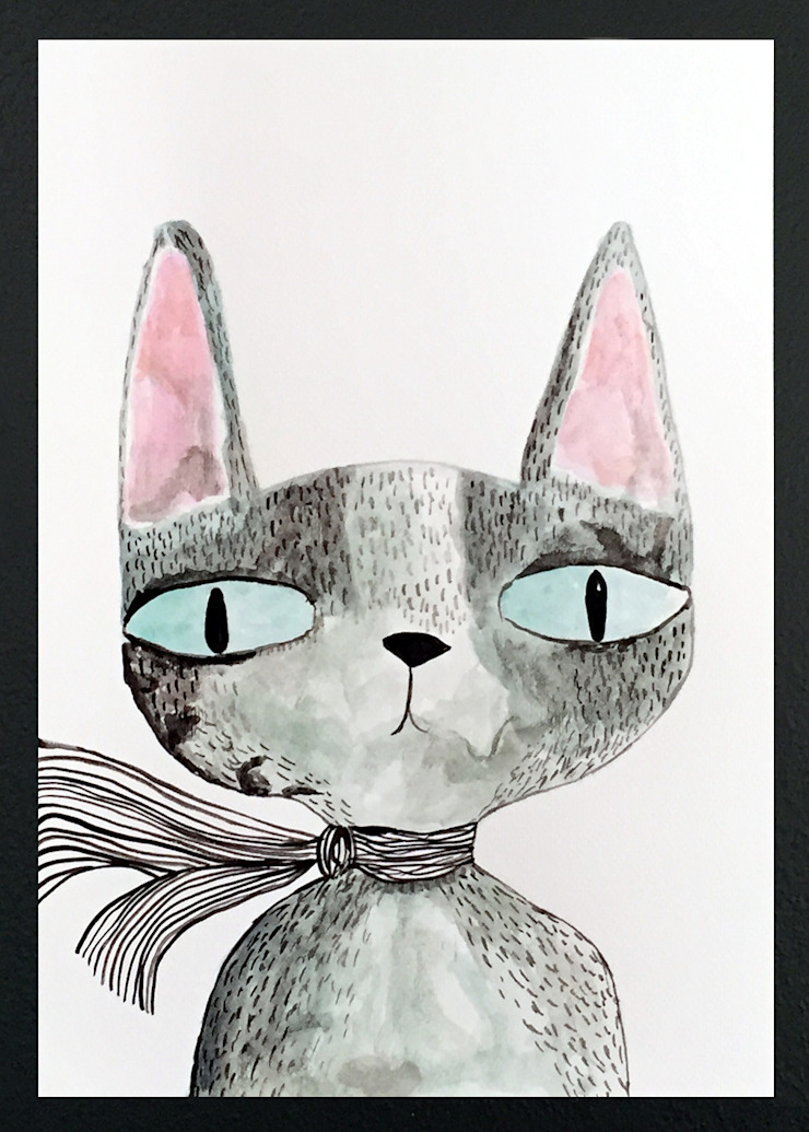 PAINTBYMGB – cat: modern tarz , Modern