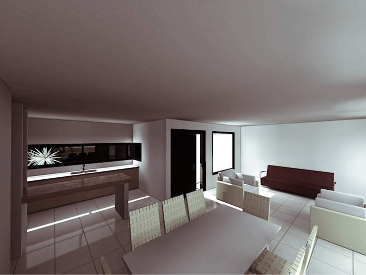 Modern living room by epb arquitectura Modern