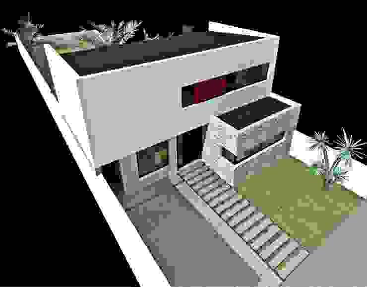 Vista Aerea Casas modernas de epb arquitectura Moderno