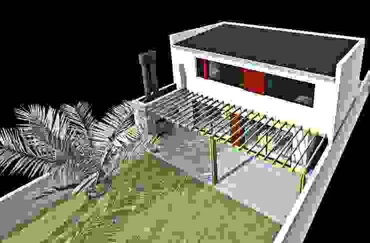 Vista aerea Casas modernas: Ideas, imágenes y decoración de epb arquitectura Moderno
