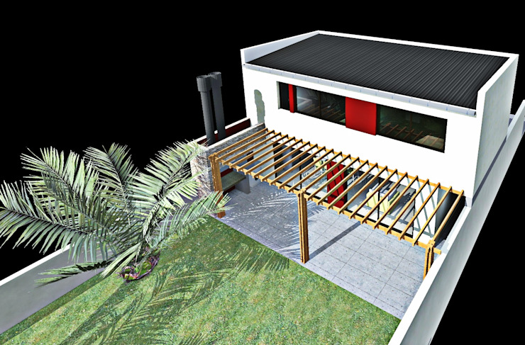 Modern houses by epb arquitectura Modern