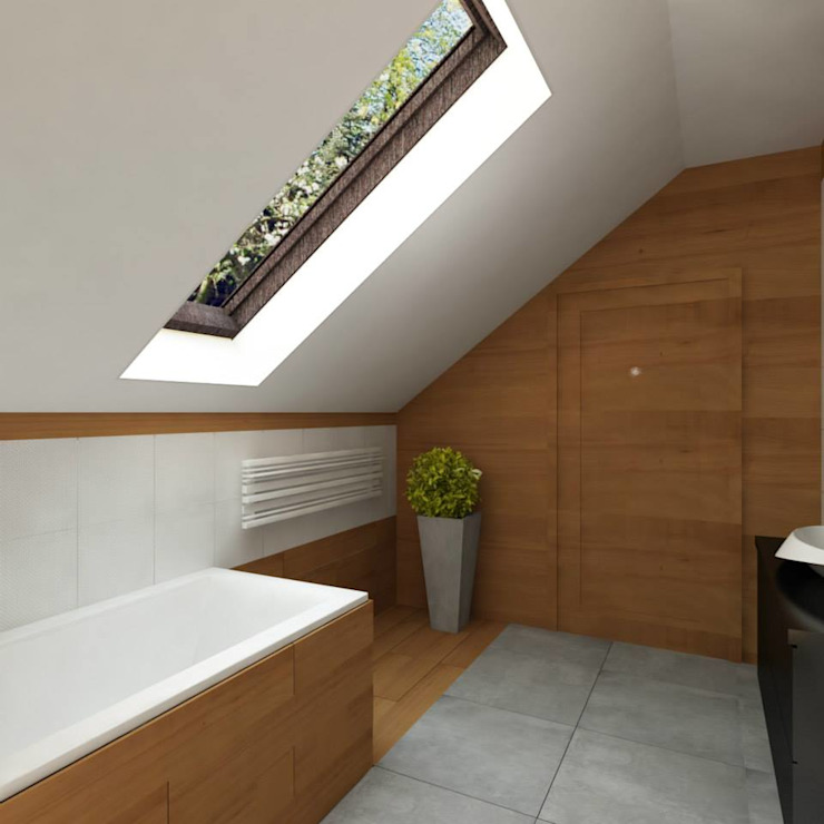 Salle de bain moderne par EMEMSTUDIO Moderne