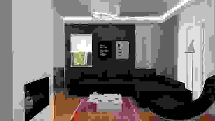 Salon moderne par EMEMSTUDIO Moderne