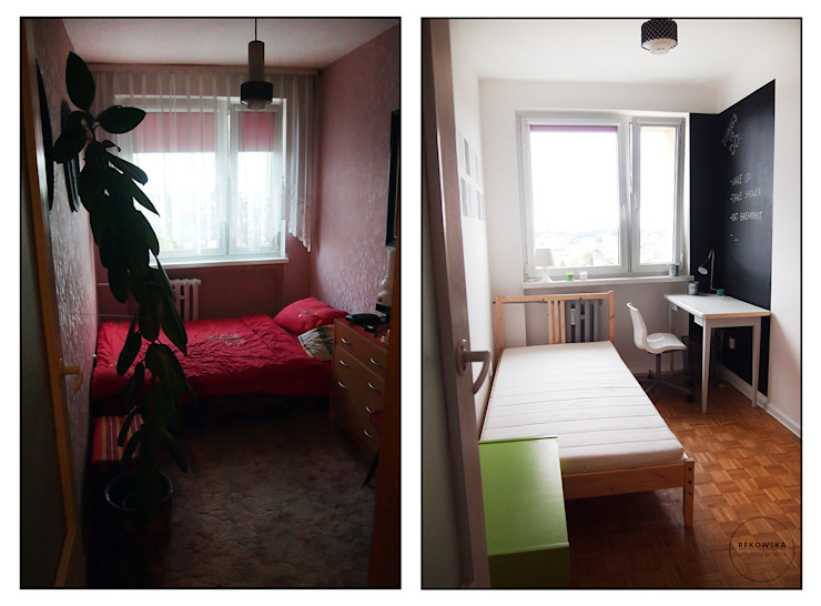 Odnowa mieszkania od VISUAL STUDIO - PROJEKTOWANIE WNĘTRZ JULIA REKOWSKA