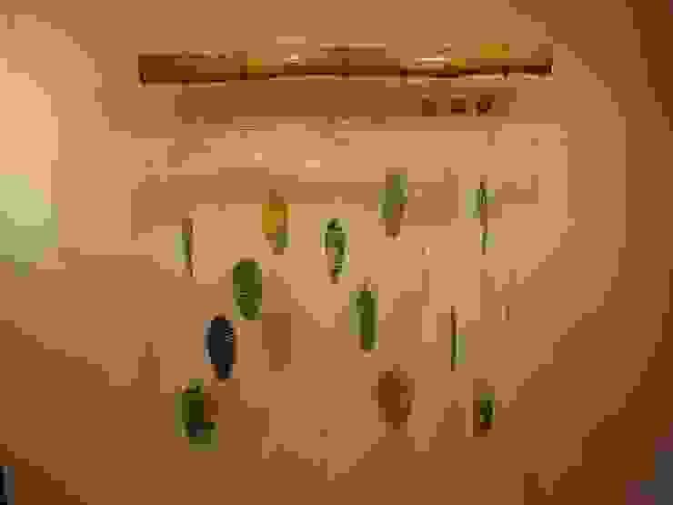 """Mural """"Hojarasca"""" de Indigo Glass Art Moderno Vidrio"""