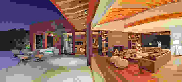 Salas de estilo moderno de Lopez Duplan Arquitectos Moderno