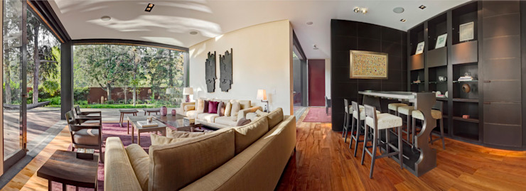 Livings de estilo moderno de Lopez Duplan Arquitectos Moderno