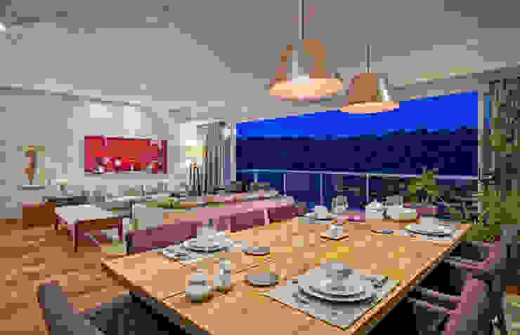 Comedores de estilo  por Lopez Duplan Arquitectos, Moderno