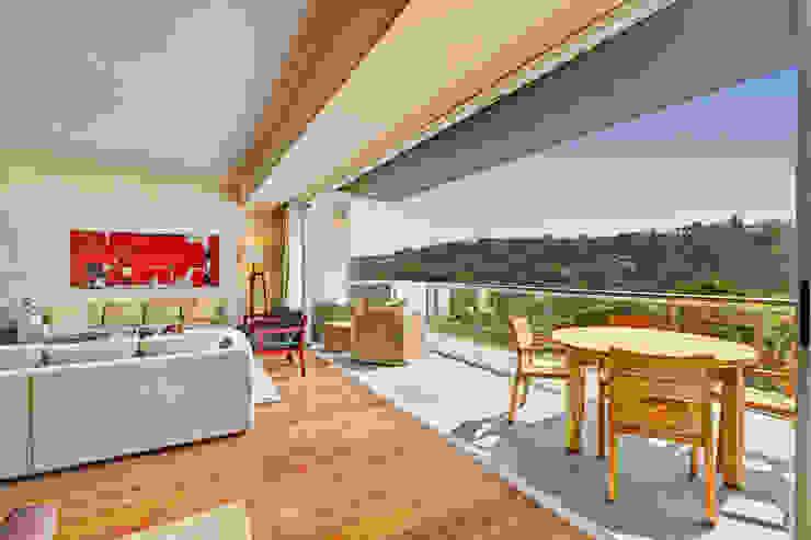 Terrazas de estilo  por Lopez Duplan Arquitectos, Moderno