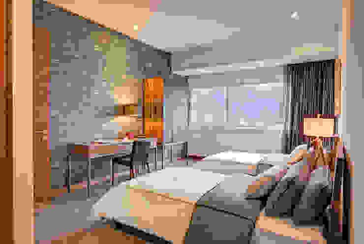 Camera da letto in stile  di Lopez Duplan Arquitectos,